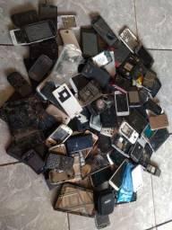 Lote telefone estragado