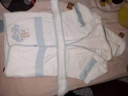 Roupão de banho de bebê
