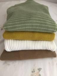 Blusinhas de lã (desapego)