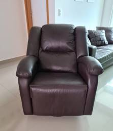 Poltrona do papai reclinável