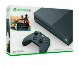 VENDO XBOX ONE S EDIÇÃO BF1 500GB + 4 JOGO LEIA ANÚNCIO