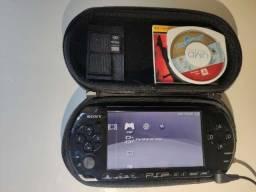 Sony Psp 3001 Original Desbloqueado Completo + Jogos