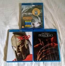 Lote de 18 filmes em blu-ray originais novos nunca usados, alguns lacrados!!