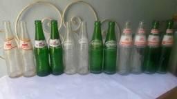 Garrafas Antigas De Vidro De Refrigerante