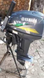 Motor popa nautica yamaha 15hp - 2016