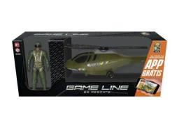 Helicóptero De Resgate de 42 cm Com Boneco e APP para baixar e jogar online Novo