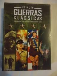 Box da coleção guerras clássicas - 4 dvd's