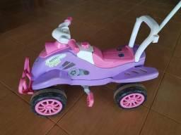 Quadriciclo pink cross calesita
