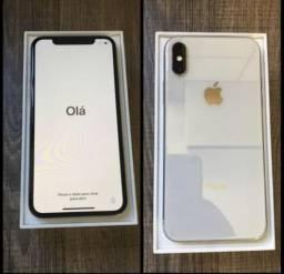 IPhone X 64gb prata novo