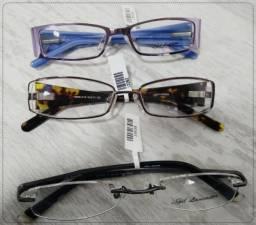 fe0db9e2d4c4c Armação de Óculos Original de Marca