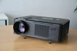 Projetor 3.000 lumens Excelvan CL720D LED