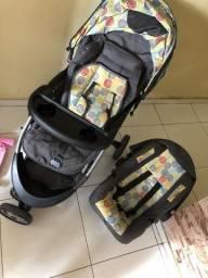 Carro de Bebê e Bebê conforto