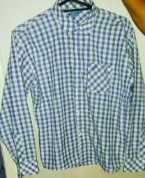 Camisa quadriculada infantil