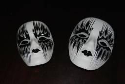 Máscaras de porcelana