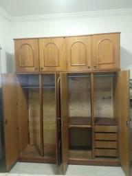 Vendo guarda roupa de madeira