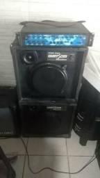Amplificador machine a500 e cxs