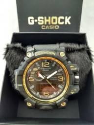 50fb8e6f4da Relogio g shock aro dourado