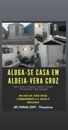 Alugo apartamento - Aldeia, Vera Cruz - Camaragibe KM 10 R$ 550,00