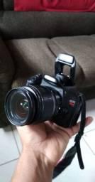 Câmera Canon t2i +lente 18-55