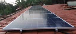 Projeto de Energia Solar para economia de 243,43 kWh
