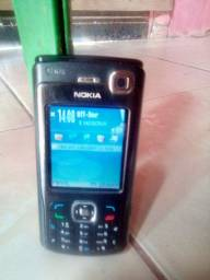 Celular Nokia N70 antigo