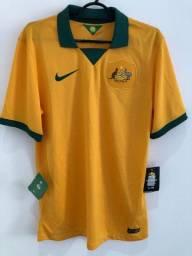 Camisa Seleção Austrália - Copa 2014
