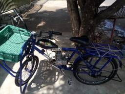 Bicicleta gargera motorizada