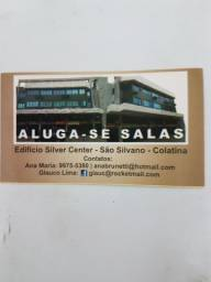 ALUGA-SE SALA COMERCIAL EM FRENTE AO BB DE SÃO SILVANO.