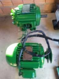 Motores  Weg de 1 cv baixa rotação trifásico