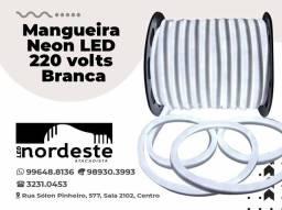 Mangueira neon led 220v branca