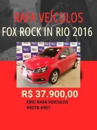 SEGUNDA FEIRA DE OFERTAS!!! FOX ROCK IN RIO 1.6 2016 R$ 37.900,00