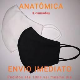 Máscara Fácial anatômica 3 Camadas