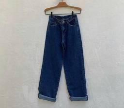 Calça mom jeans 100% algodao