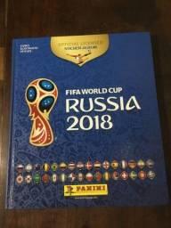 Álbum capa dura copa russia 2018