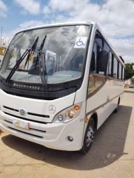 Micro onibus rodoviario mercedes bens lo 915 , ano 2010 , 28 lugares completo