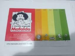 Folder O Mundo Segundo Mafalda. (Exclusivamente para coleção)