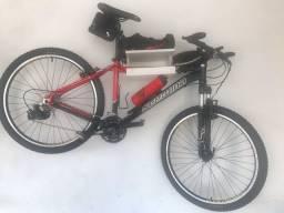 Bicicleta aro 26 com 21 marcha