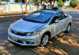 Civic Exs 1.8 2012/12 Flex - Com teto solar - 84 mil km