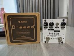 Pedal Guitarra Delay Joyo D-Seed Com Caixa