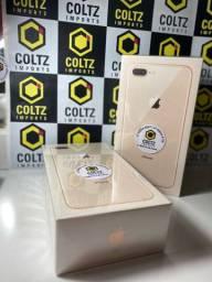 iPhone 8 Plus 128GB Dourado Novo/Lacrado