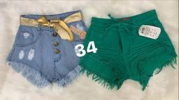 Shorts jeans 3 por 130
