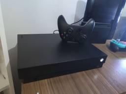Xbox One X 1tb, 1 Controle e 14 jogos