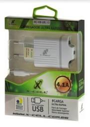 Carregador USB e V8 X-Cell