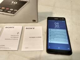 Celular Sony Xperia C5 Ultra tela 6 polegadas Tela trincada