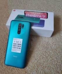 Xiaomi Redmi 9, 4GB/64GB, Novo/Lacrado, aceitamos cartão, frete grátis - Loja Rampage