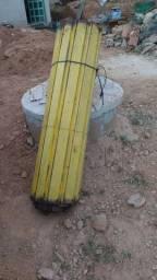 Porta comercial sanfonada