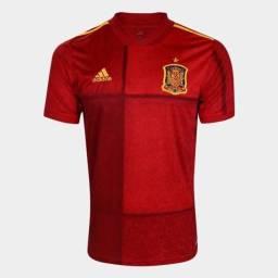 Camisa Oficial da Espanha 2020 - R$ 160
