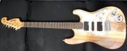 Guitarra Escalopada (apenas venda)