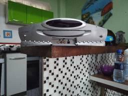 Gravador de mesa de cd e vcd da marca terapin