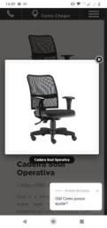 Cadeira de escritório Ergon Soul Operativa (nova embalada) R$ 500 10x  ou R$ 400 avista